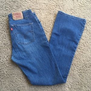 Levi's 525 Boot cut jeans